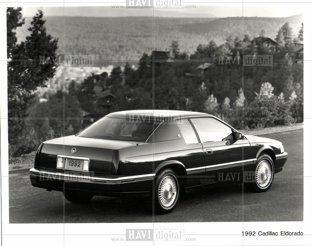 1992 cadillac eldorado 1992 vintage photo print historic images historic images outlet
