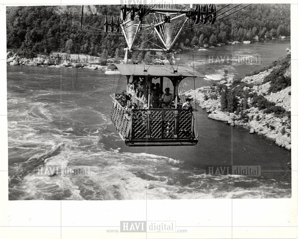 1978 Press Photo Cable car Aerial lifts - Historic Images
