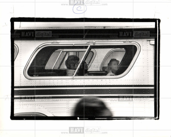 1988 Press Photo Detroit Transportation - Historic Images