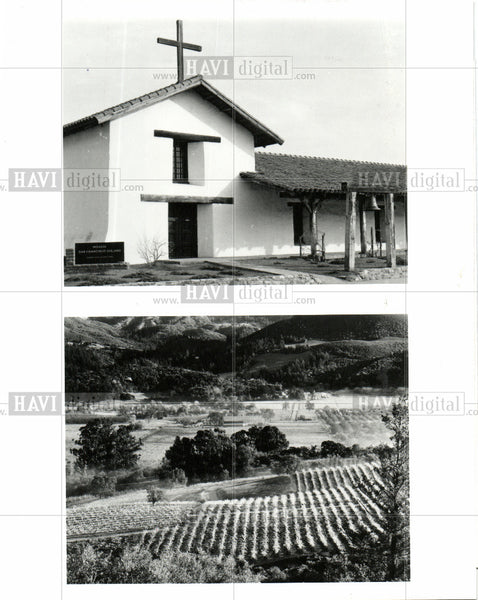 Press Photo California West Coast of the United St - Historic Images