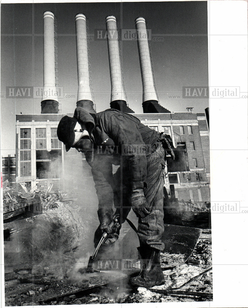 1981 Press Photo MAIN PLANT - Historic Images