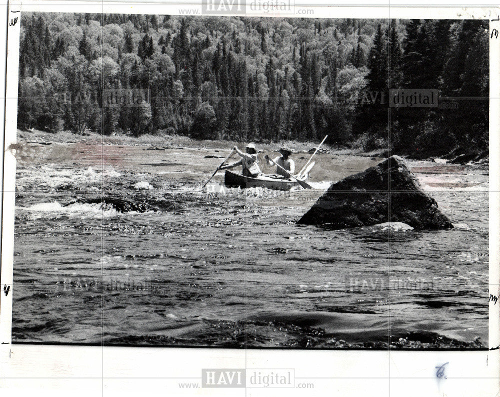 1977 Press Photo dam - Historic Images