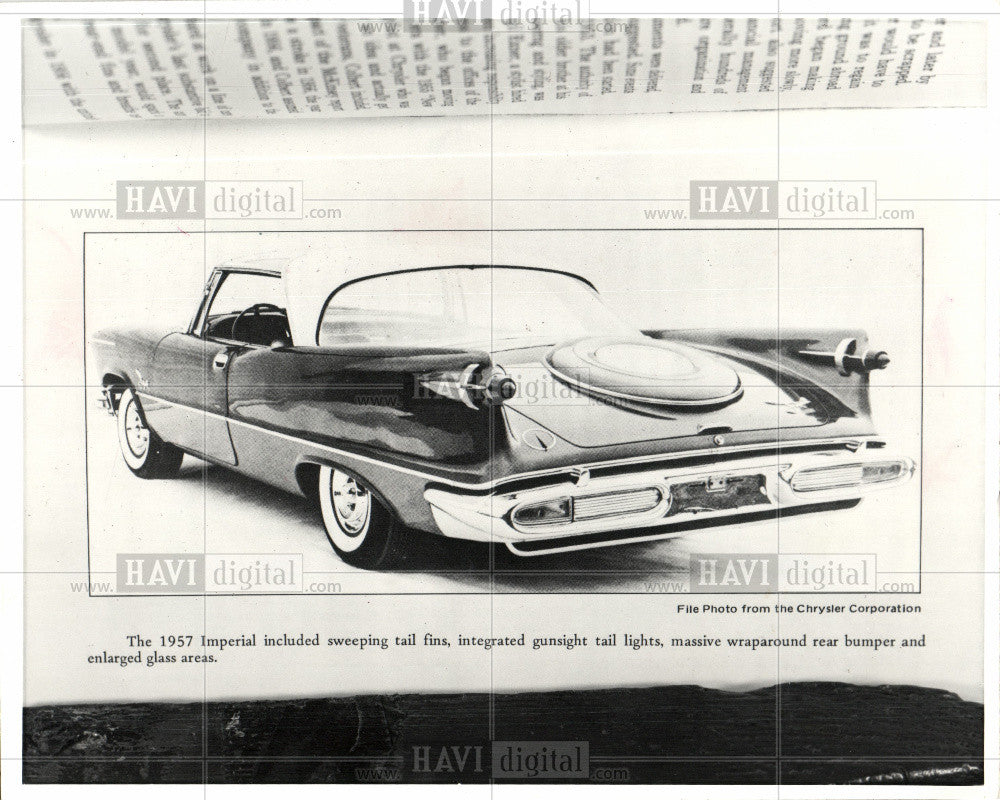 1983 Press Photo Chrysler 1957 Imperial - Historic Images