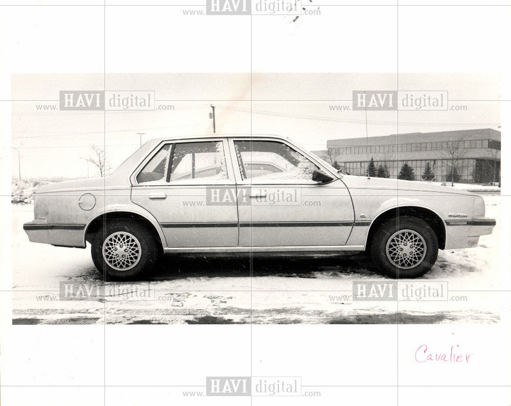 1984 Press Photo Chevy Cavalier - Historic Images