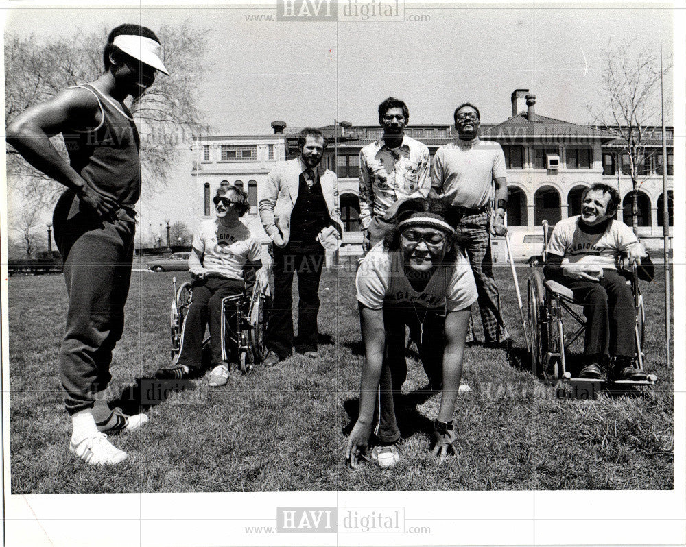 1978 Press Photo National Cerebral Palsy Games - Historic Images