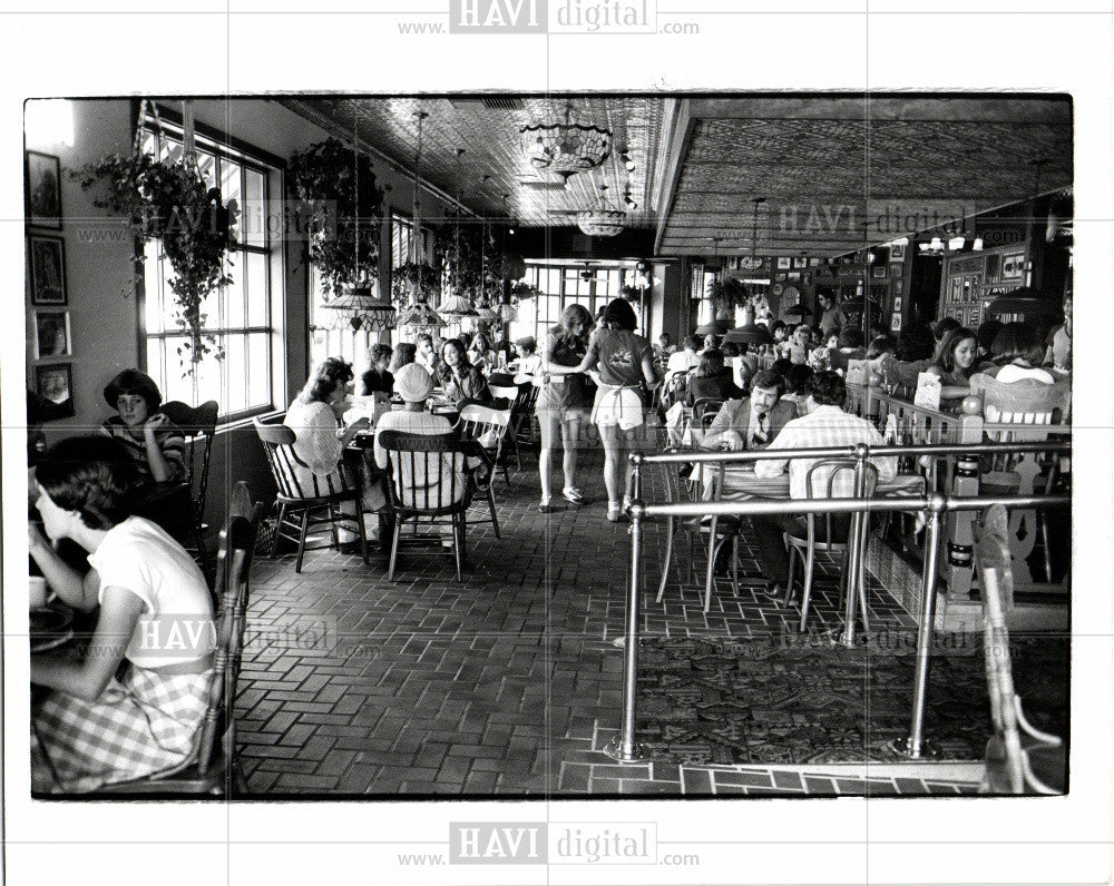 1983 Press Photo Carlos Murphy Restaurant - Historic Images