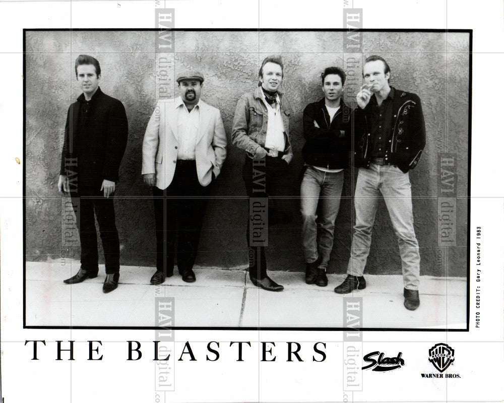 1983 Press Photo The Blasters - Historic Images