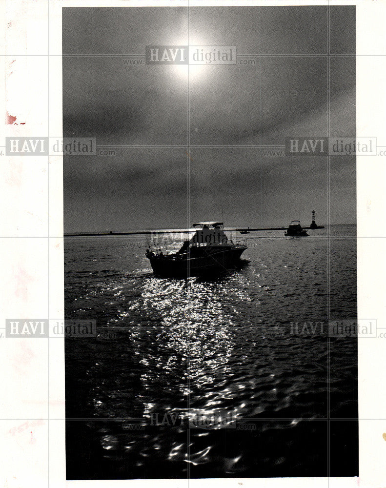 1985 Press Photo Boat Boating - Historic Images