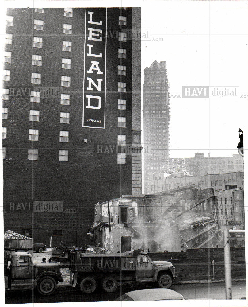 1961 Press Photo LELAND BRINK'S BUILDING - Historic Images