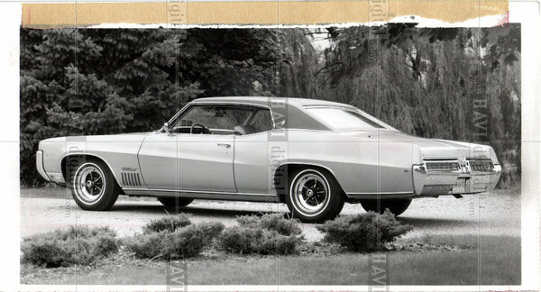 1968 Press Photo Buick Wildcat 1969 - Historic Images