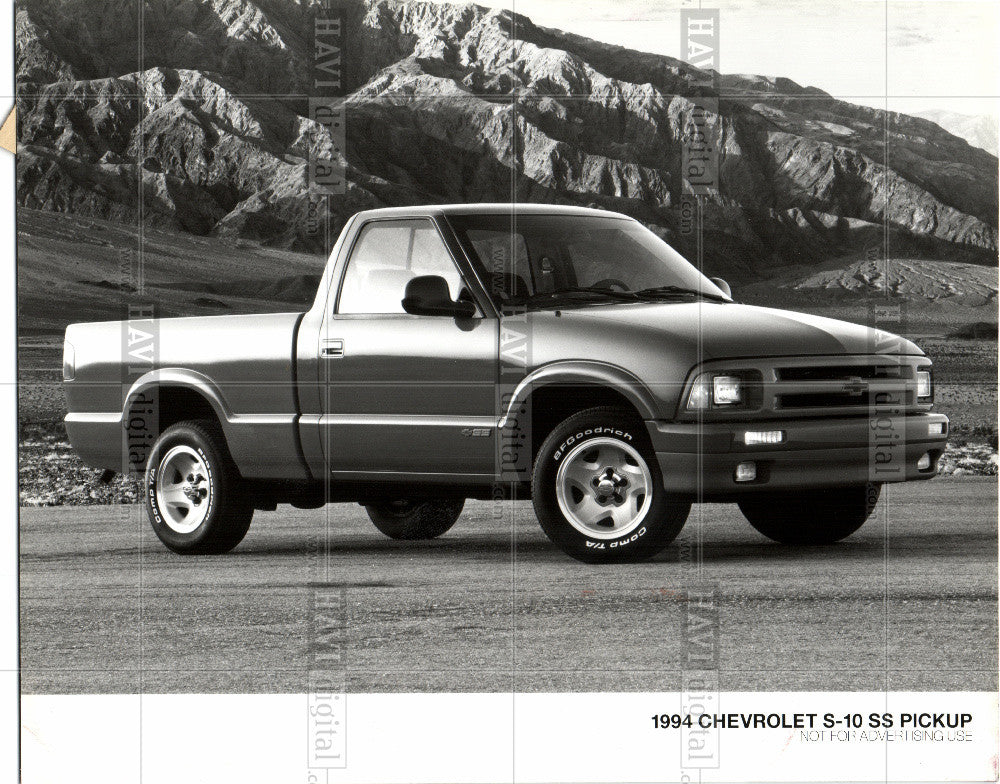 1994 Press Photo 1994 Chevrolet S-10 SS Pickup - Historic Images