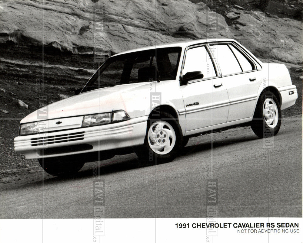 1991 Press Photo Chevrolet Cavalier automobiles - Historic Images