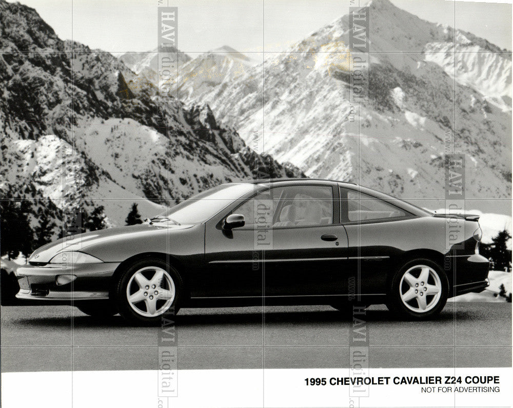 1990 Chevrolet Cavalier Z24 Coupe Auto Ad Old Print