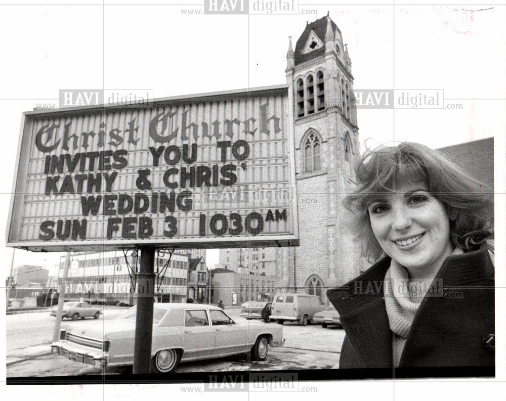 1980 Press Photo Kathy Gamache - Historic Images