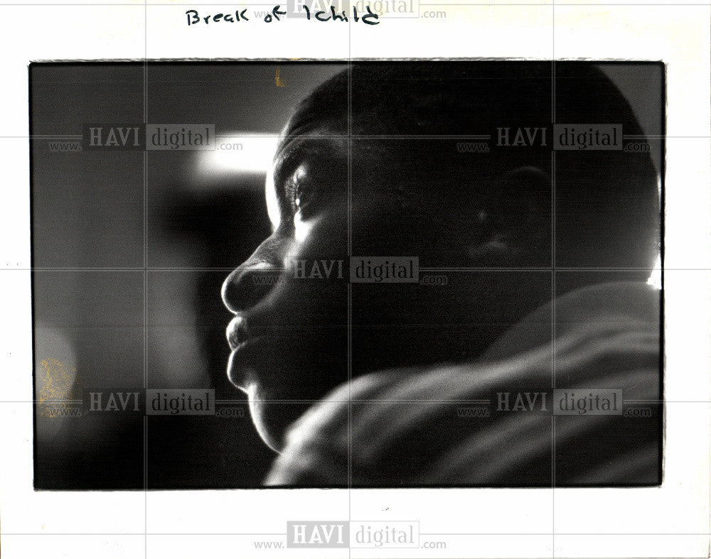 1992 Press Photo Crossfire Children Detrick Foreman - Historic Images