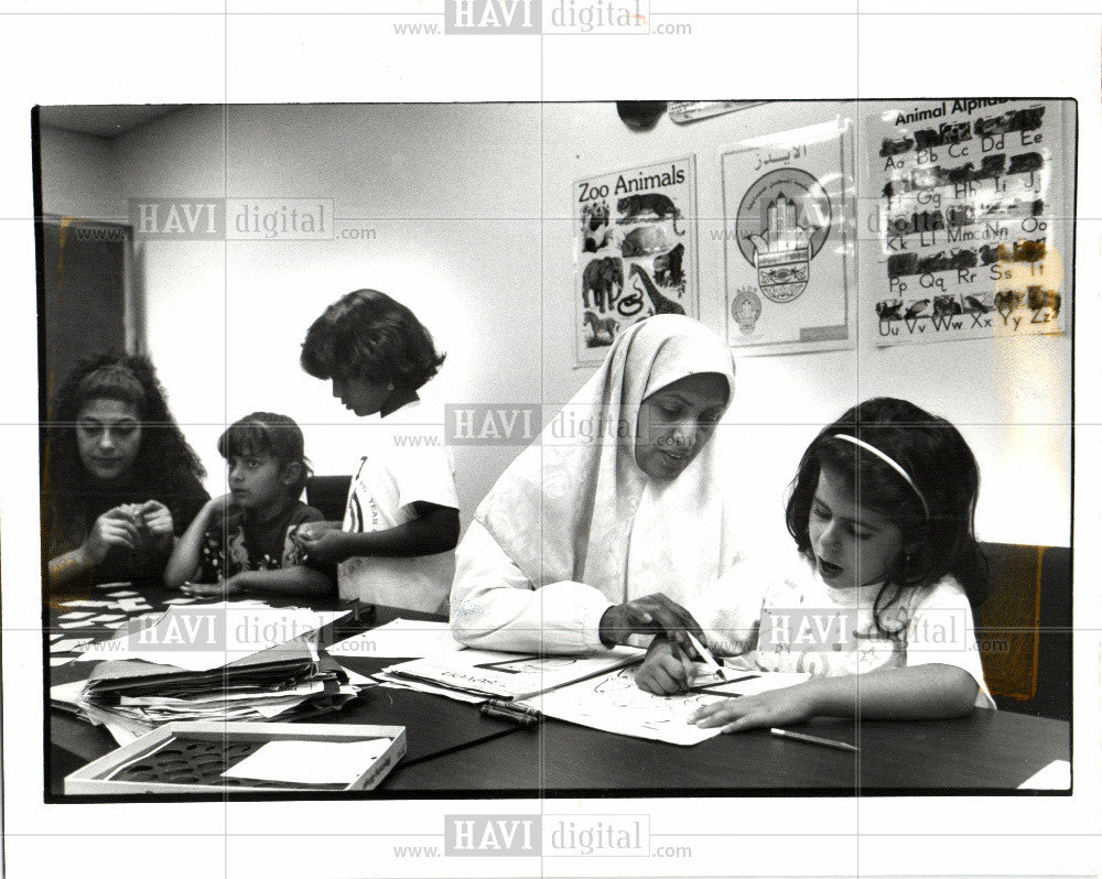 1992 Press Photo Childern First - Historic Images