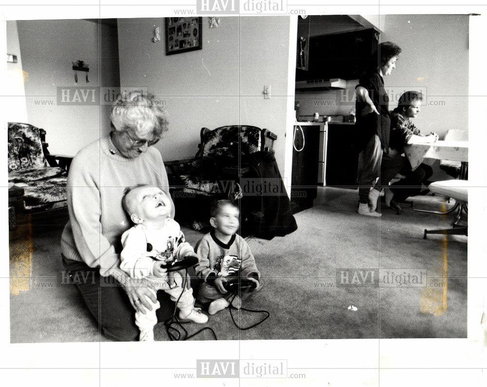1993 Press Photo Marilyn Feddeler kemske gatdner - Historic Images