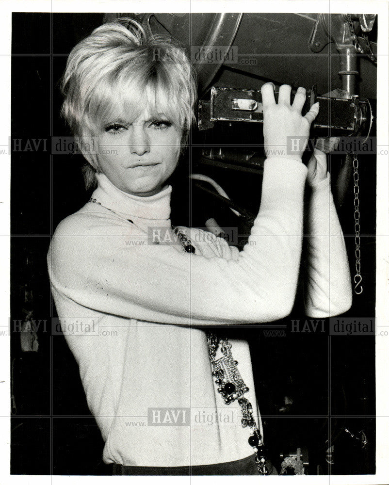1969 Press Photo Goldie Hawn American Actress Film - Historic Images