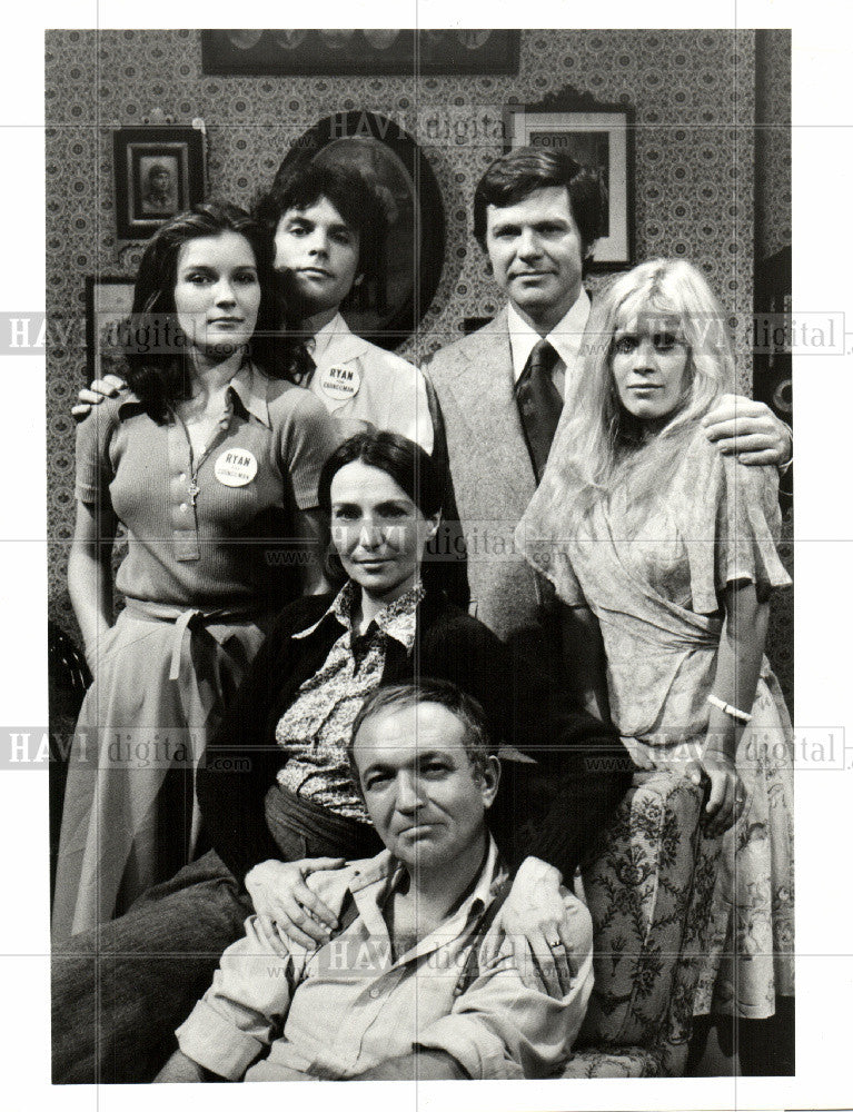 1975 Press Photo Michael Hawkins American actor - Historic Images