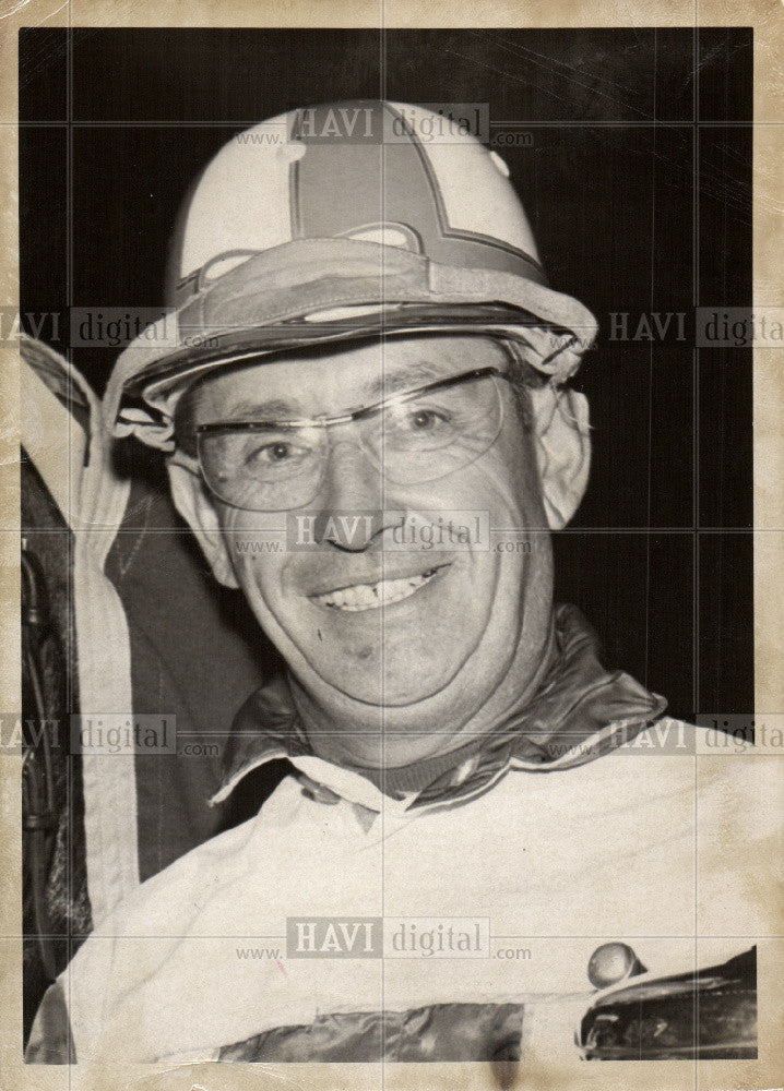 1969 Press Photo Billy Haughton Champion Harness Racing - Historic Images