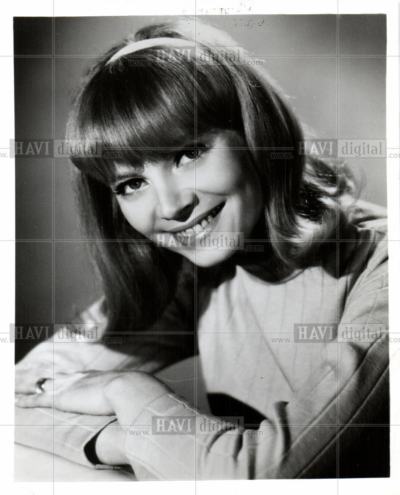 1967 Press Photo PATRICIA HARTY - Historic Images