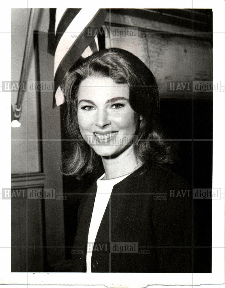 1968 Press Photo mariette hartley  actress. - Historic Images