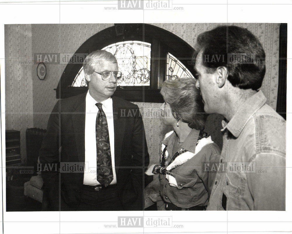 1995 Press Photo Jim Haveman State Mental Health Dept - Historic Images