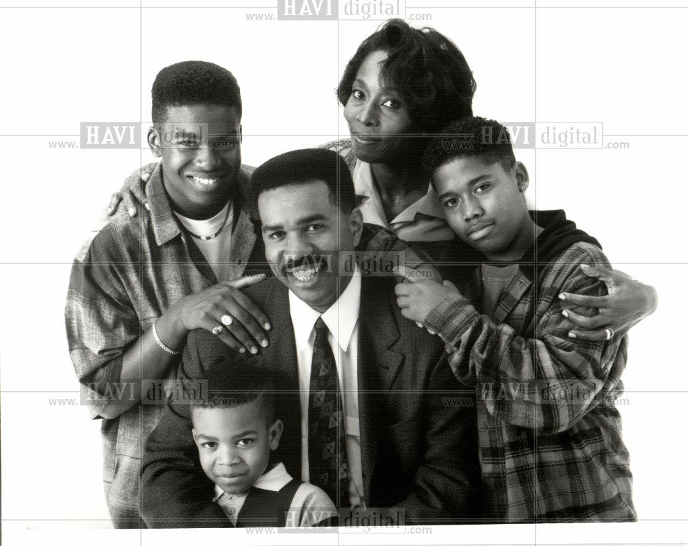 Press Photo Steve Harvey Actor - Historic Images