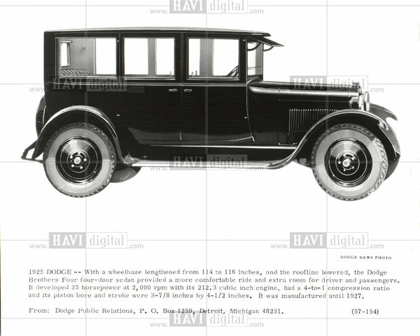 1919 Press Photo Dodge - Historic Images