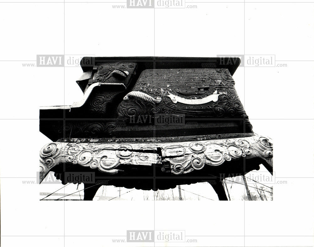 Press Photo Detroit Michigan Stove Co - Historic Images