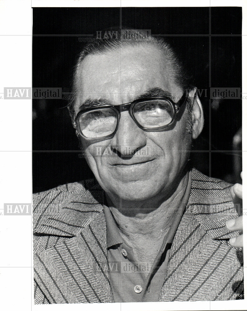 1973 Press Photo Frankie Rapp, Comedian - Historic Images