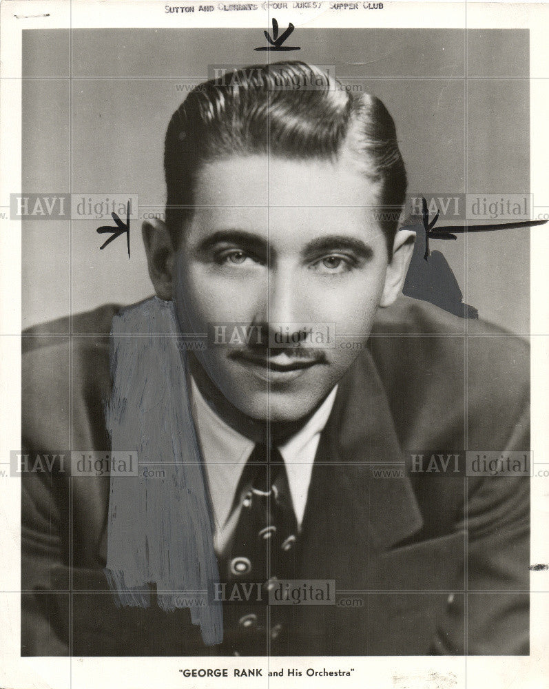 1952 Press Photo George Rank- famous Orchestra member - Historic Images
