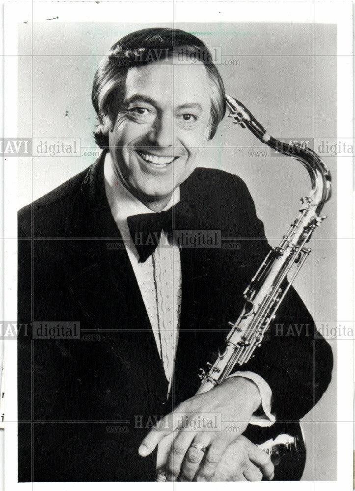 1987 Press Photo Boots Randolph musician yakety sax - Historic Images