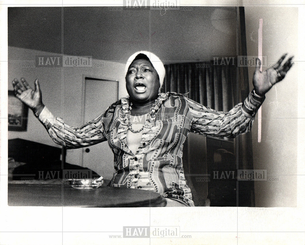 1974 Press Photo Esther Rolle actress television - Historic Images