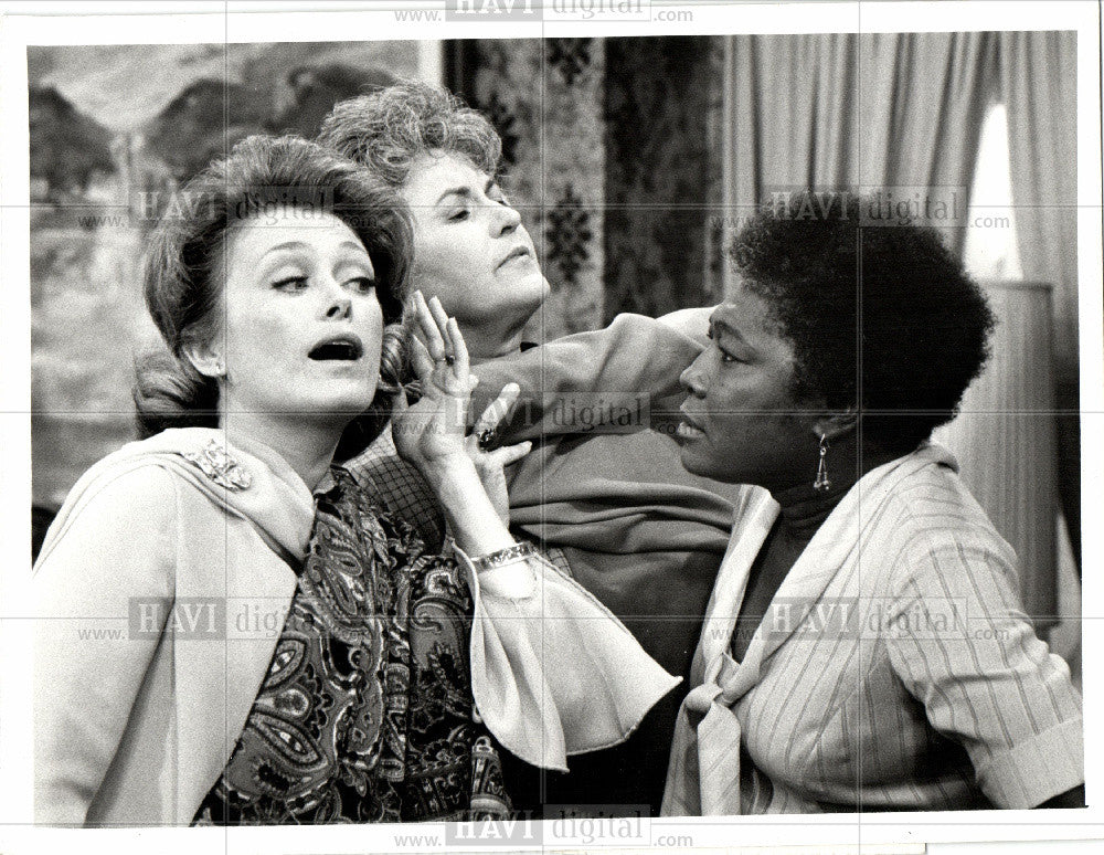 1973 Press Photo McClanahan Arthur Esther Rolle Maude - Historic Images