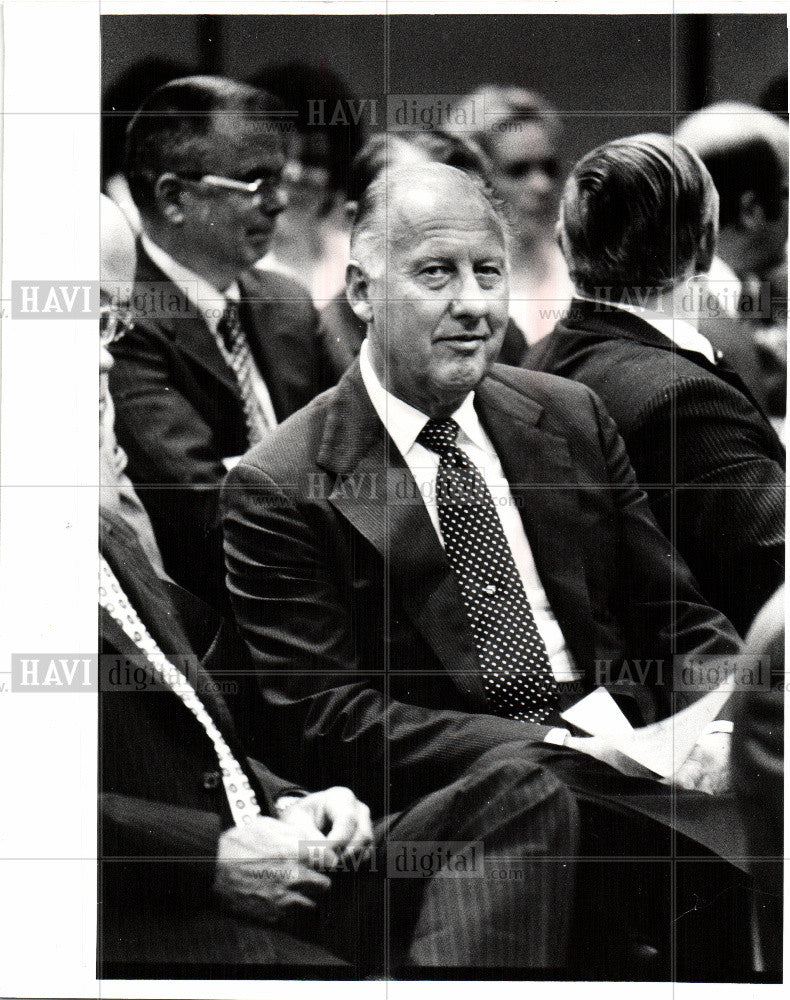 1979 Press Photo Robert Rowan Fruehauf Corp chairman - Historic Images