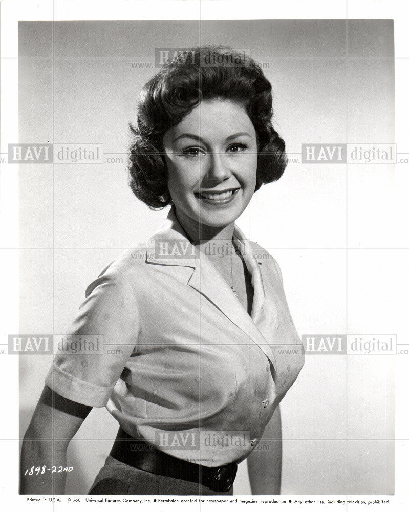 1960 Press Photo Nancy Root American Actress - Historic Images
