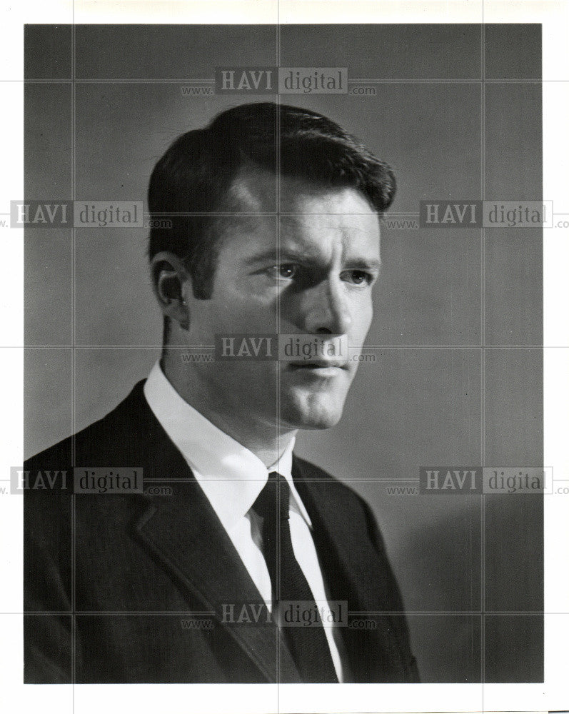 1968 Press Photo Don Galloway Actor - Historic Images