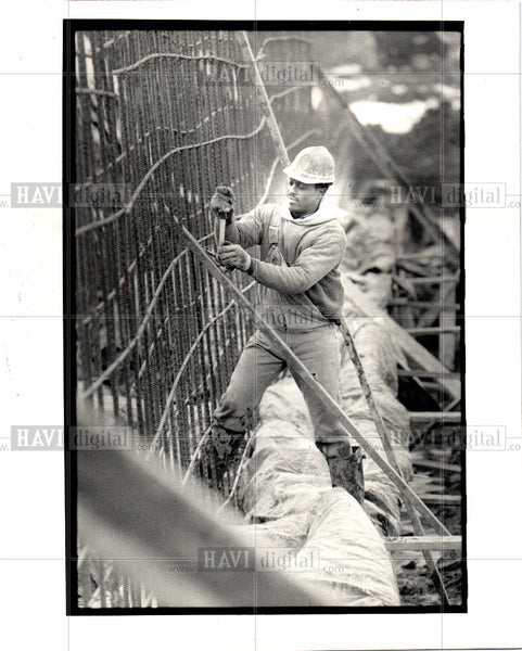 1993 Press Photo construction- building -architecture - Historic Images