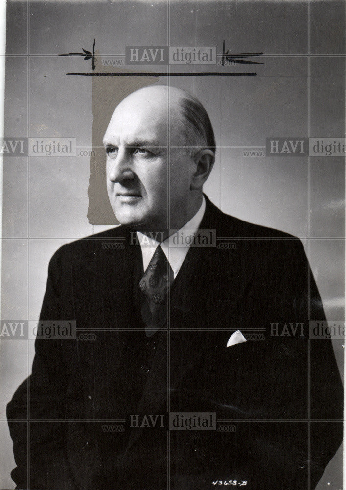 1949 Press Photo Canadian Railway train 1949 president - Historic Images