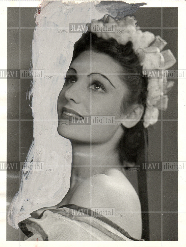 1956 Press Photo Peggy Van Praagh dancer choreographer - Historic Images