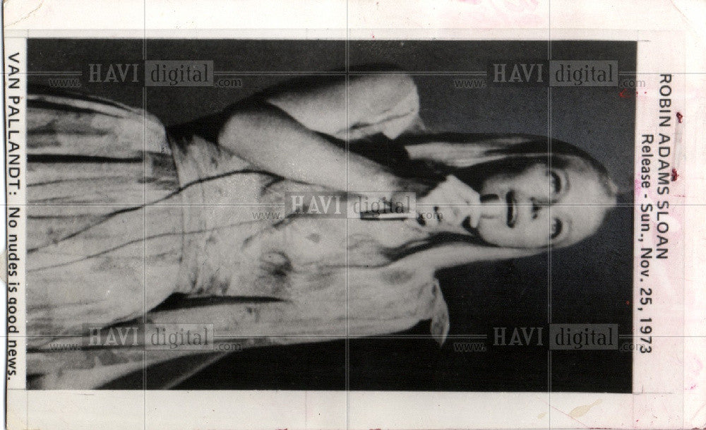 1977 Press Photo Van Pallandt, Danish, Singer - Historic Images