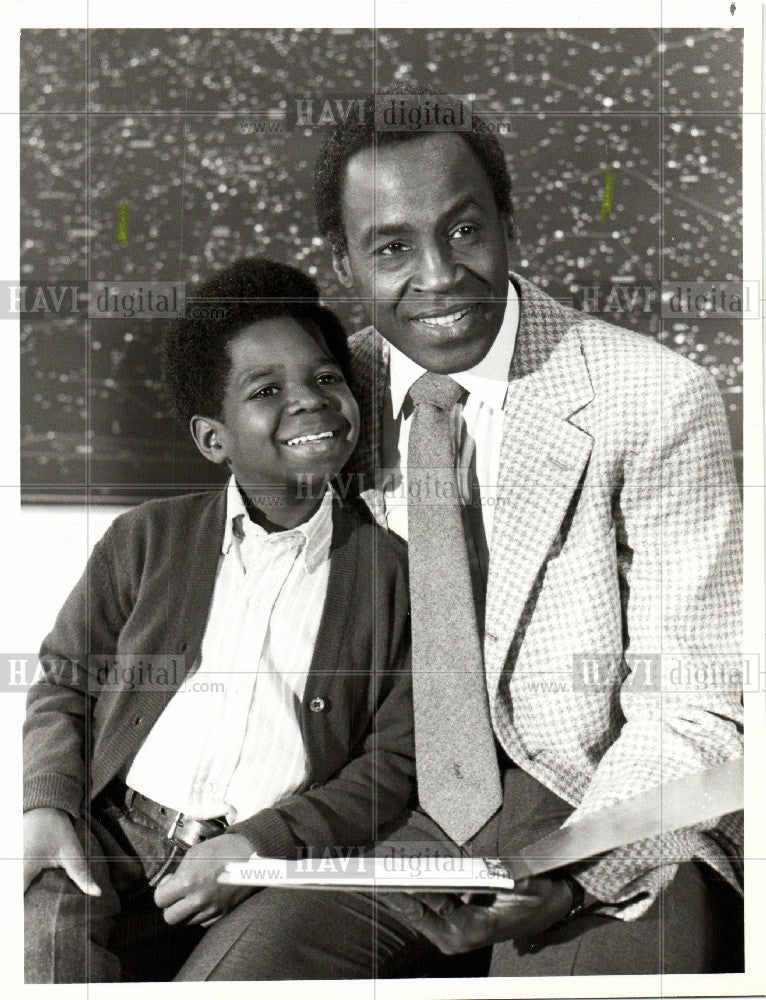1983 Press Photo Gary Coleman, Robert Guillaume, NBC TV - Historic Images