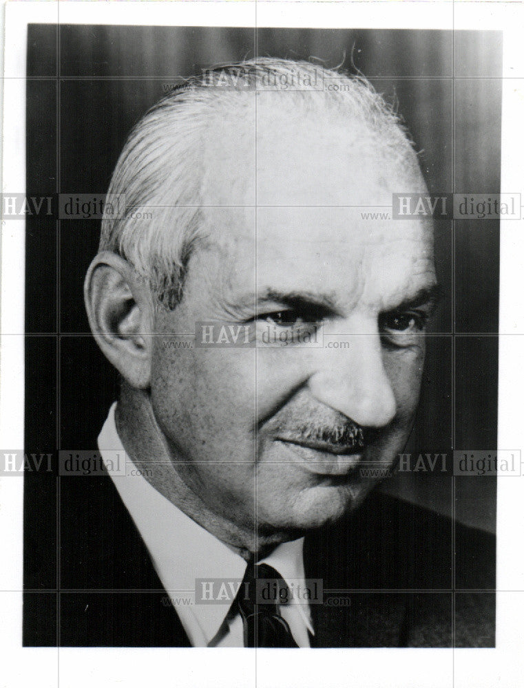 1960 Press Photo Paul Handleman - Historic Images