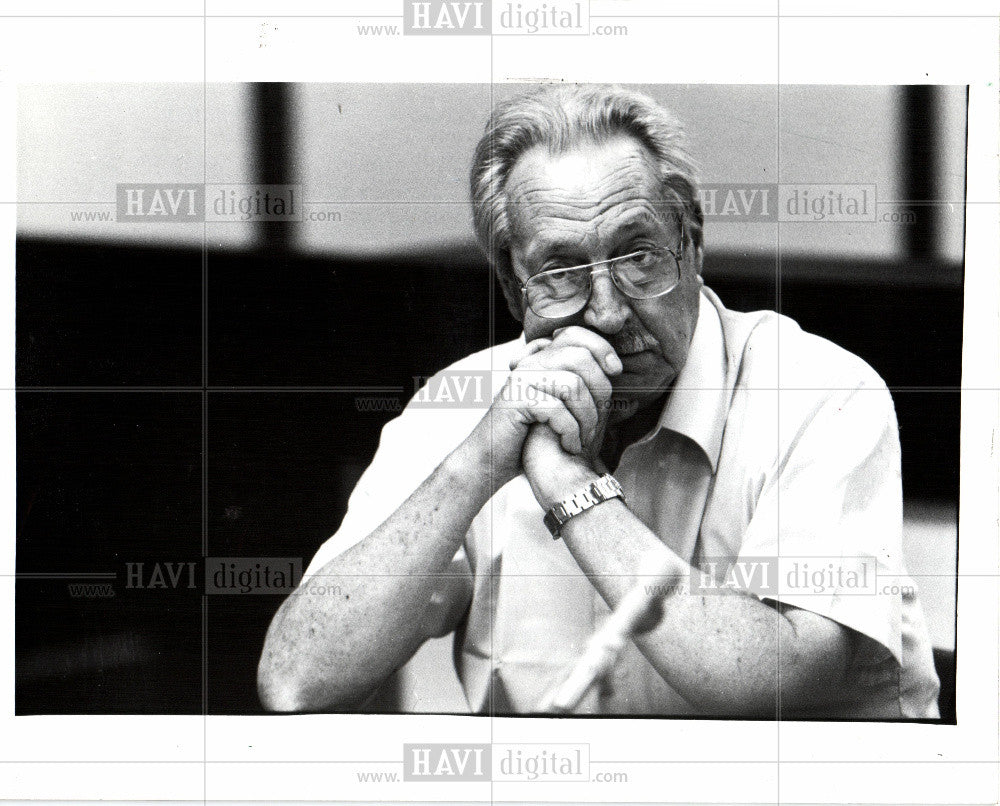1991 Press Photo Bertram Harper Virginia - Historic Images