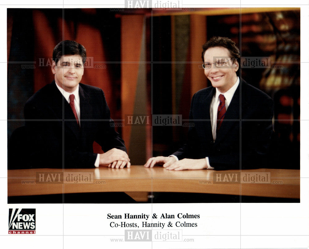 Press Photo Hannity & Colmes - Historic Images