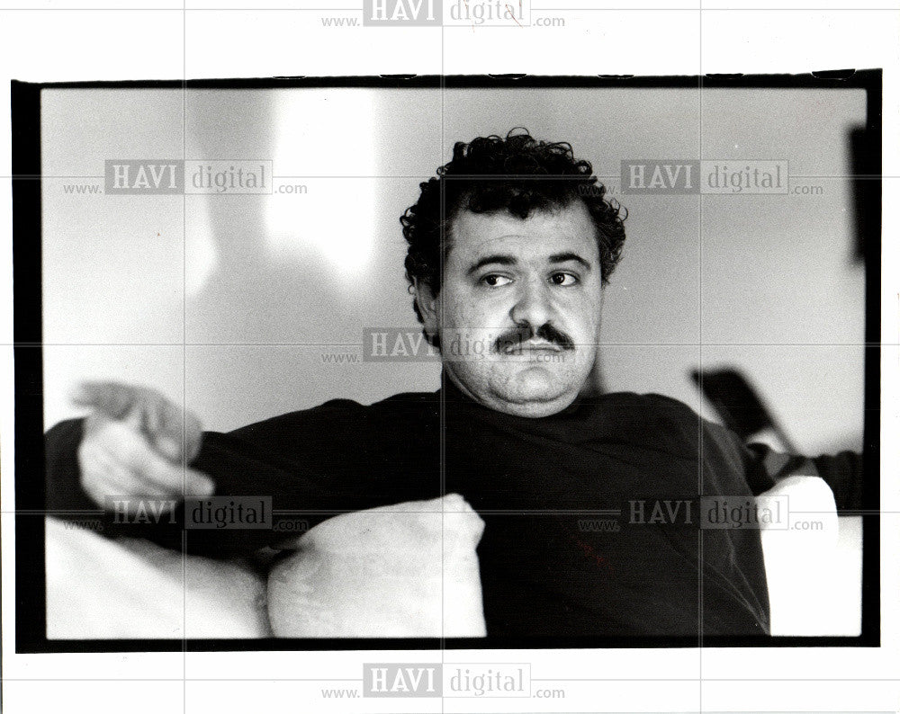1993 Press Photo Wissam Hanna - Historic Images