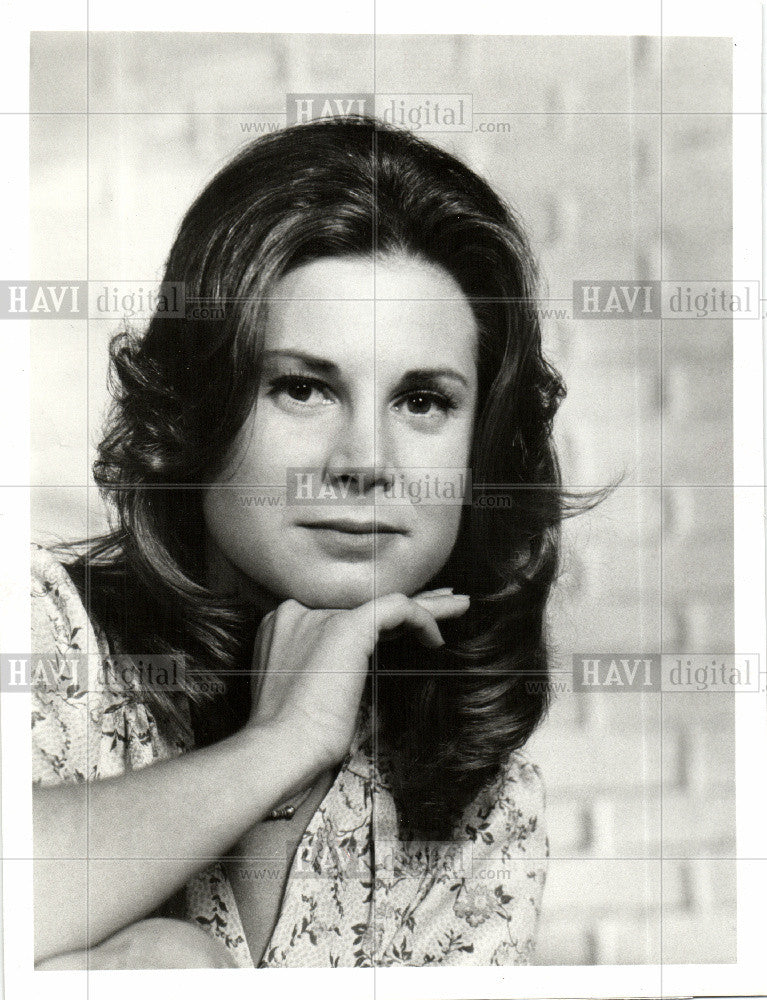 1974 Press Photo Patricia Stich Griff ABC - Historic Images