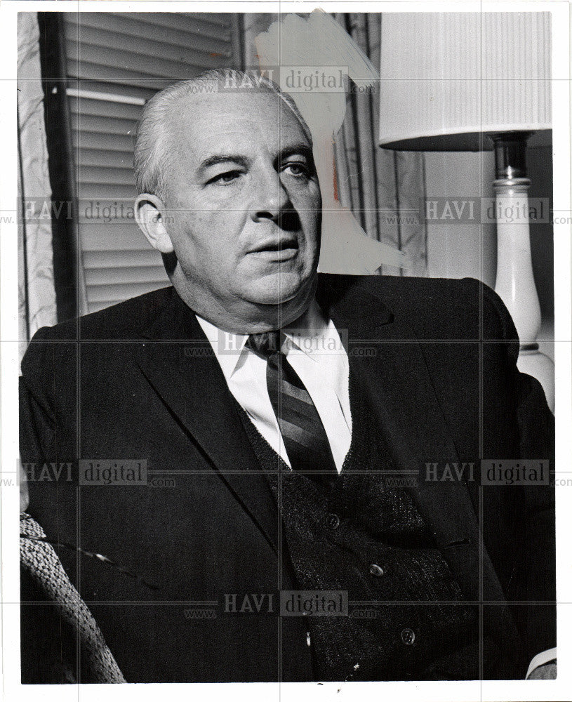 1960 Press Photo Photograph of Russ Stewart - Historic Images