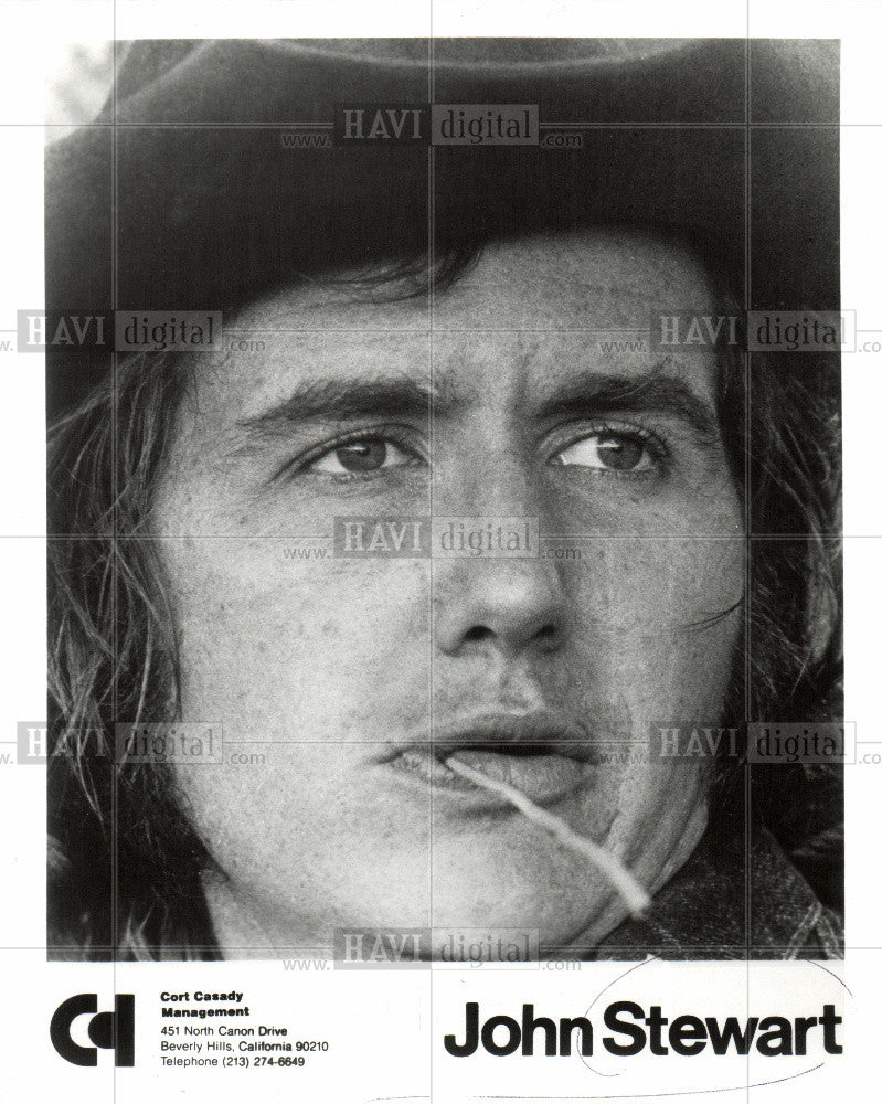 1973 Press Photo John Stewart - Historic Images